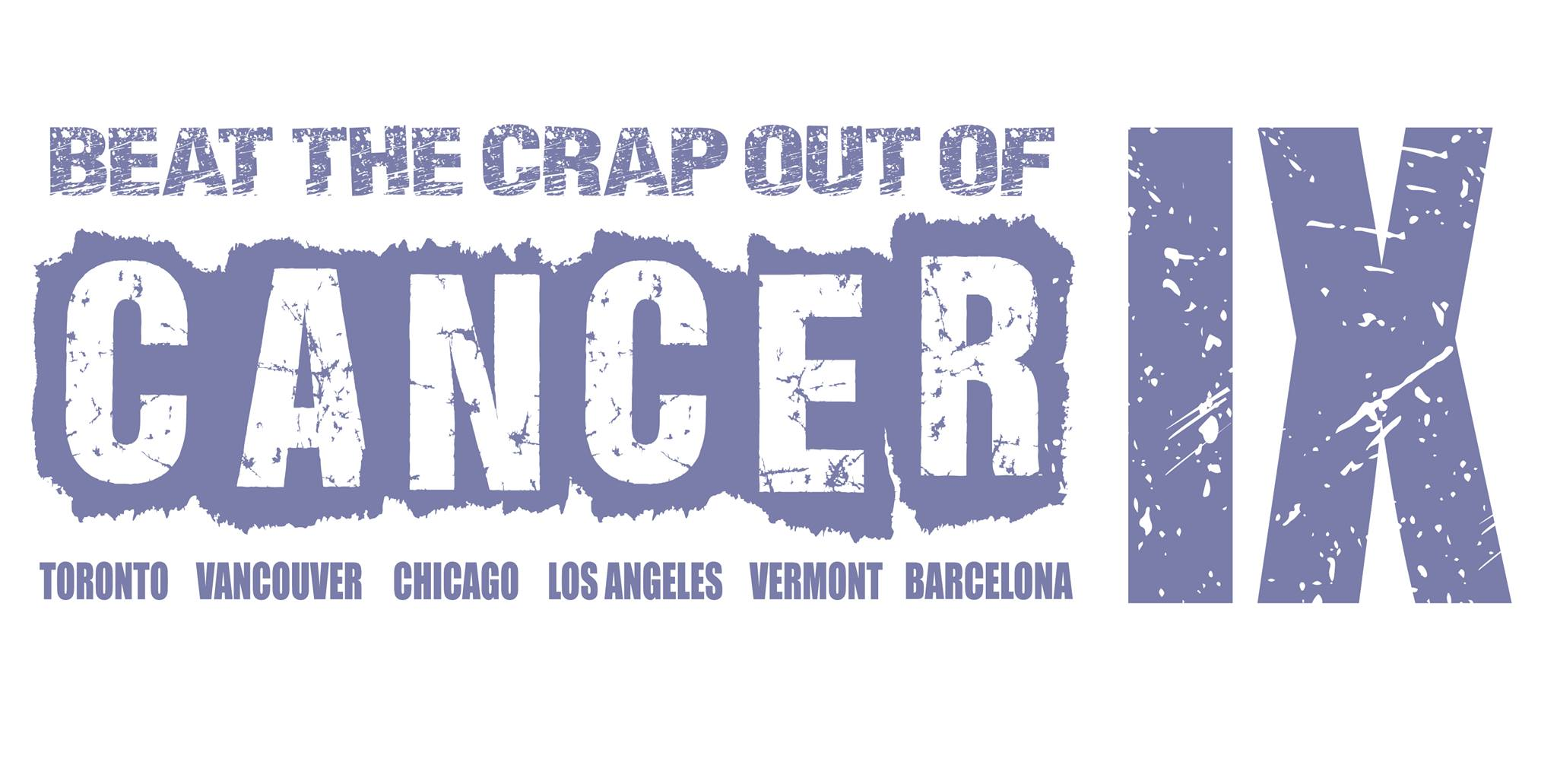 Beat the Crap Out of Cancer IX