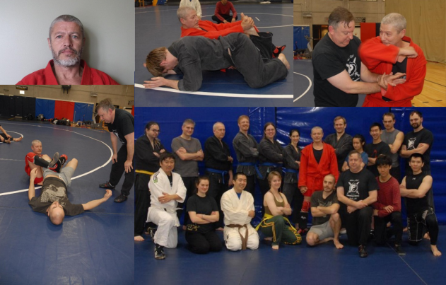 SAMBO for Combat and Sport