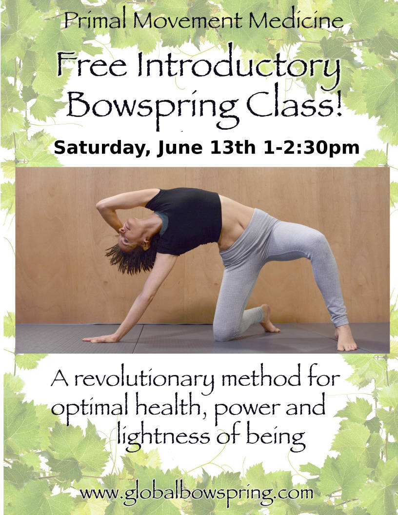 Free Introductory Bowspring Class
